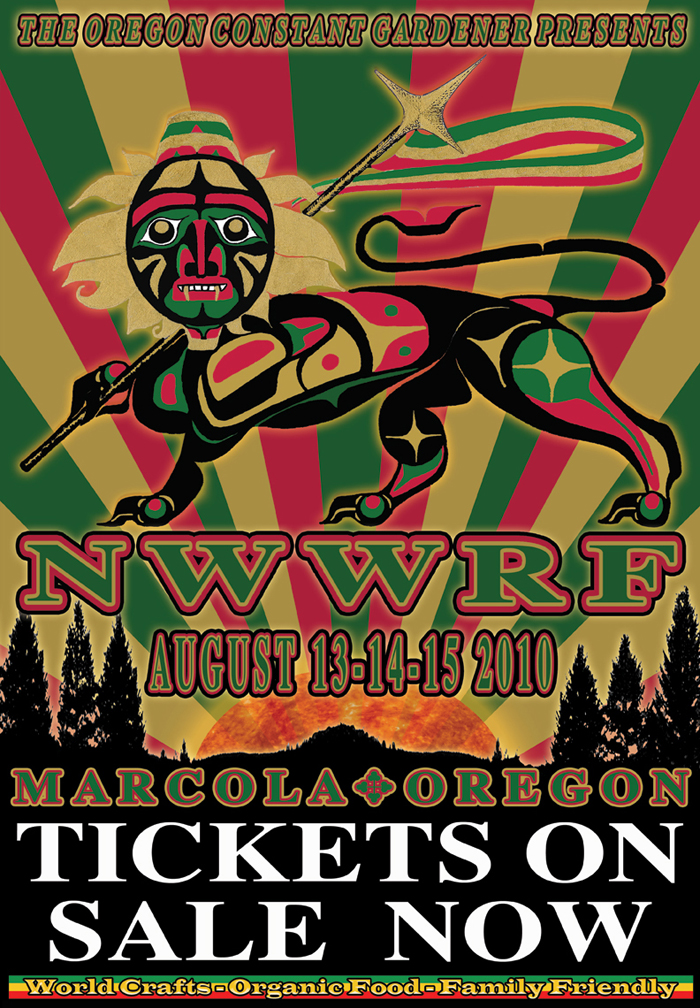 Northwest World Reggae Festival  Marcola Oregon
