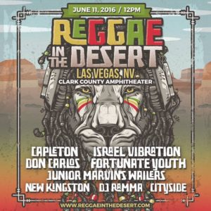 Reggae in the Desert 2016